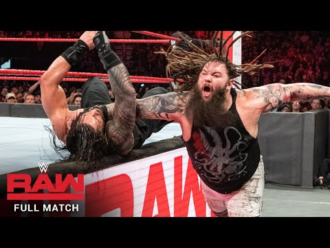 FULL MATCH - Roman Reigns vs. Bray Wyatt: Raw, Feb. 5, 2018