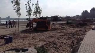 Открытие Ленинской дамбы(, 2013-06-27T05:20:41.000Z)