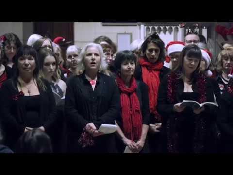 Once In Royal David's City, Gurt Lush Choir & Bristol MAN Chorus, St Albans, Dec 2017