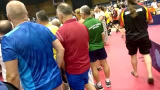 Чемпионат мира среди ветеранов по настольному теннису WVC2016 Аликанте Испания(Прогулка по залу с камерой., 2016-12-21T13:25:27.000Z)