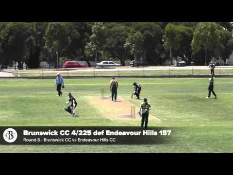 Round 8 vs Endeavour Hills CC - First XI