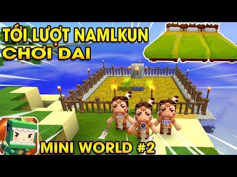 Mini World Sinh Tồn #2   Chú Heo Con Nhớ Người Iu & Khu Vườn Bị Nổ Tung   Vamy Trần (w/ KiA Kun)