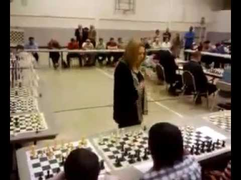 Susan Polgar-50 board chess simul in El Paso, Texas_Sunday Chess Tv I chess I cờ vua ✔️