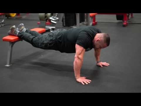 How to do a Decline Pushup | Tiger Fitness