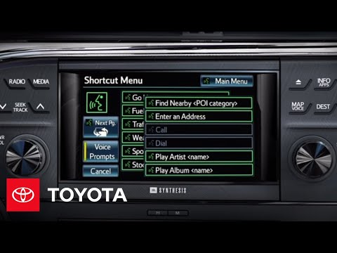 2013 Avalon How-To: Premium HDD Navigation - Input an Address w. Voice Recognition   Toyota