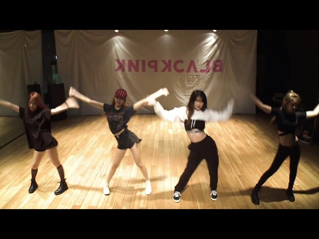 [mirrored] BLACKPINK - AS IF IT'S YOUR LAST Dance Practice Video