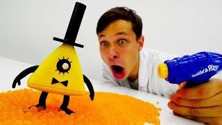 Злодей из #ГравитиФолз у Доктора Ой! Чего хочет Билл Шифр? #МультикиДляДетей Игры для детей #Игрушки