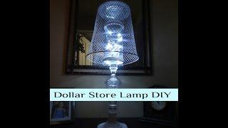 Dollar Tree Lamp DIY