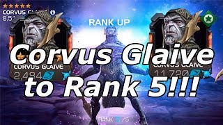 5 Star Corvus to Rank 5!!! Marvel Contest of Champions