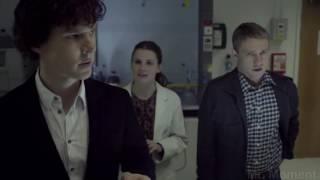 Доктор Ватсон знакомится с Шерлоком .Сериал Шерлок. Афганистан или Ирак?. Шерлок