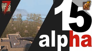 7 Days to Die (15 alpha) ► Запчасти для мотоцикла, Ostrich hotel и внезапная находка в конце!