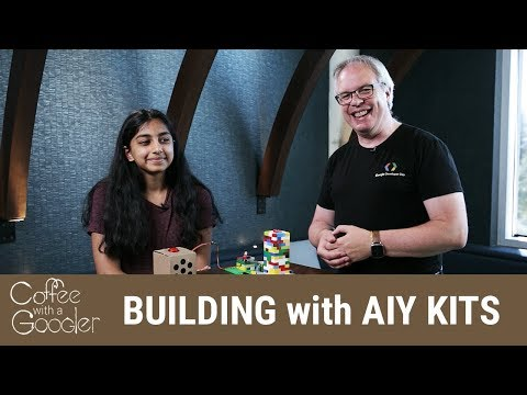 Artificial Intelligence and High School Students -- Trying AIY for the First Time!