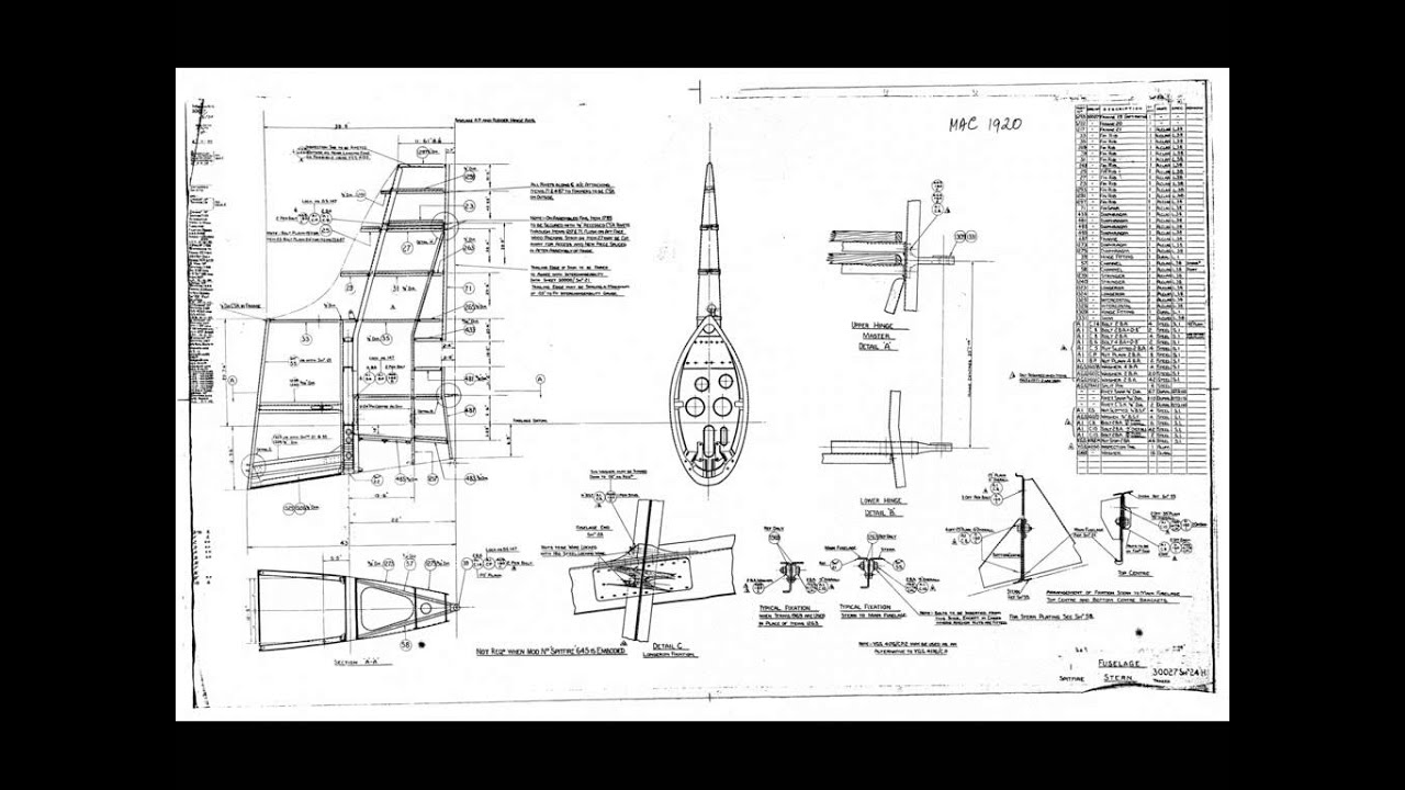 27 Spitfire Main Fuselage