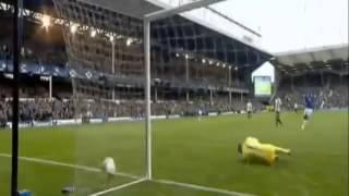 هدف جاريث بيل في مرمى مانشستر سيتي موسم 2012-2013