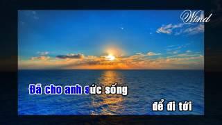 Tình em là đại dương Karaoke Beat Duy Mạnh