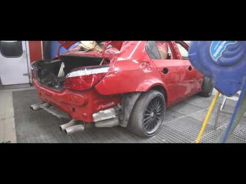 Новый цвет для BMW M5 Red Star. Рассказ про боевую BMW e30 и немного Audi RS6