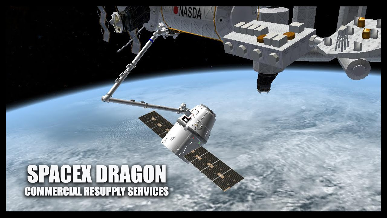 SpaceX Dragon Orbiter Space Flight Simulator 2010 YouTube