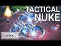 StarCraft 2: TACTICAL NUKE vs MASS TEMPEST!