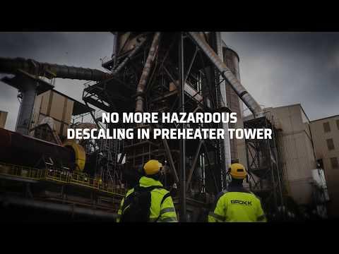 Brokk Descaler – The Solution To Avoid Hazardous Descaling