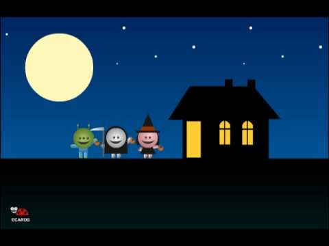 Funny Halloween Alien Animated Free Greeting Ecards
