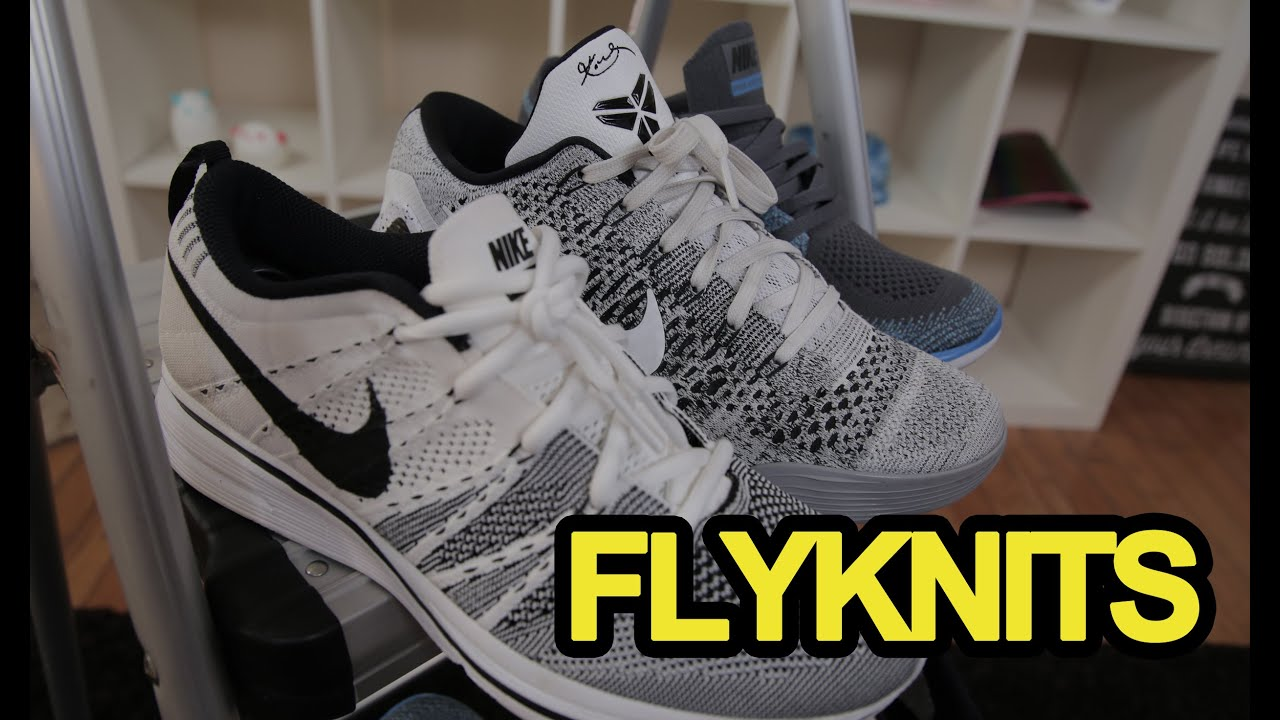 7d20d6a5f6fa9 NIKE FLYKNIT SNEAKER REVIEW Feat. Fung Bros - YouTube