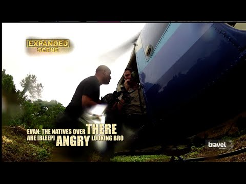 Evan B. Stone, Danger Moments! Expedition Unknown on Travel CH