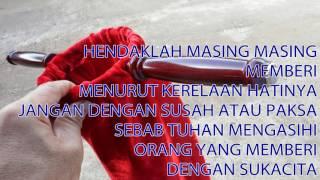 LAGU PERSEMBAHAN - HENDAKLAH MASING MASING  MEMBERI