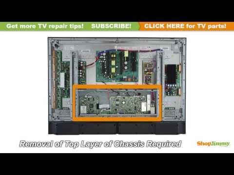 LG Plasma TV Repair 6871QCH077C Main Logic CTRL Boards Replacement Guide