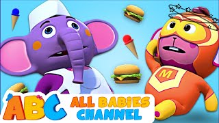 Sorry and Thank You Song   +More Nursery Rhymes & Kids Songs -  All Babies Channel