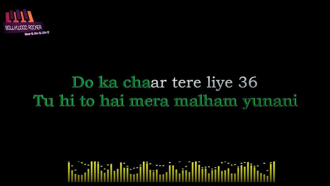 Do Ka Chaar karaoke|Chaman Bhaar|Sonu nigam