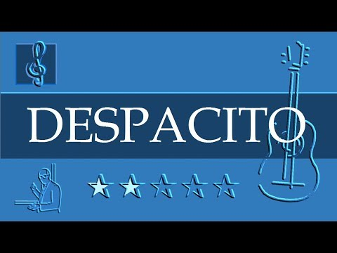 Acoustic Guitar TAB - Despacito - Luis Fonsi ft. Daddy Yankee (Sheet Music)