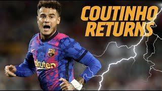 The return of Coutinho