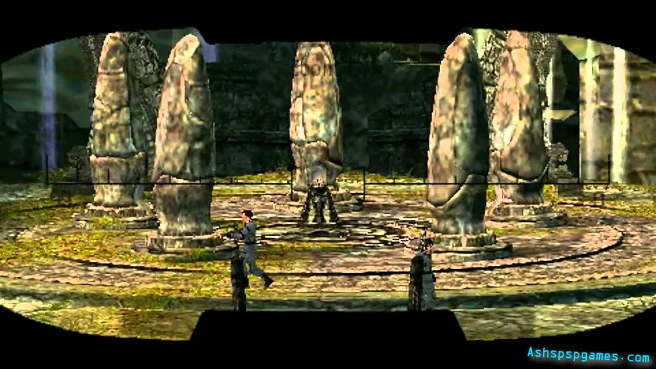 Lara Croft Tomb Raider Legend Psp 01 Bolivia Tiwanaku 2 2 Youtube