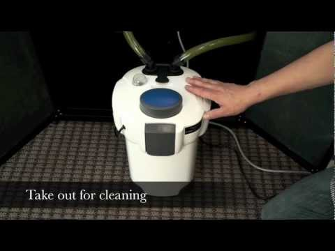AQUATOP CF Series Canister Filters w/ Built-In UV: Operation & Maintenence