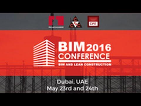 BIM and Lean Conference 2016 | Dubai | May 23-24-25