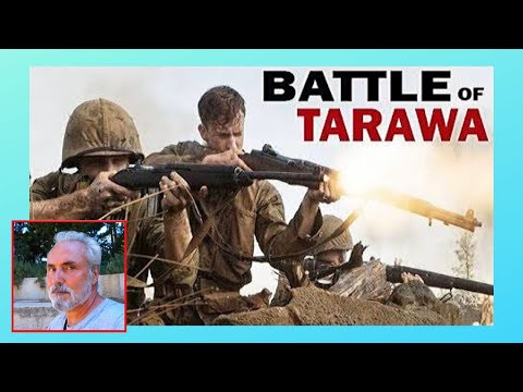 The WW2 battle of Tarawa (1943), buried American military equipment (Kiribati, Central Pacific)