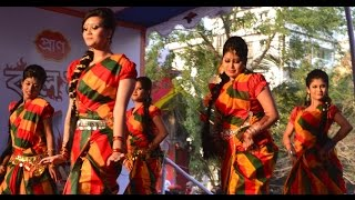 Dance academy/school in Uttara |Ailo darun fagun re laglu mone agun re I Bangladeshi Dance