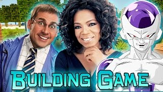 Building Game: Celebrity Edition! (Minecraft Build Game Challenge Episode 1)