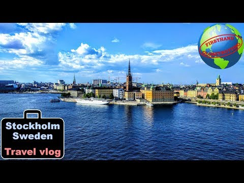 Stockholm, Sweden travel vlog! Island hopping, stone lions, sunken ships and meatballs