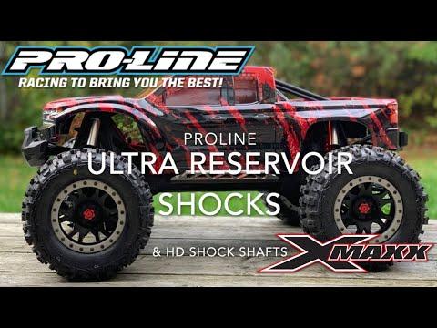 Proline Ultra Reservoir Shock upgrade on the Traxxas X-Maxx