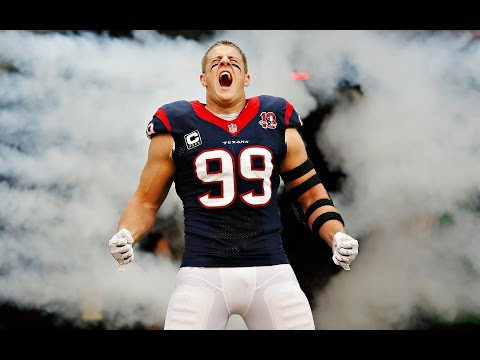 Game Time With J.J. Watt: Fantasy Football, Training, And Breaking Records