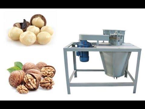 Macadamia Nut Shelling Machine|Walnut Cracker For Sale