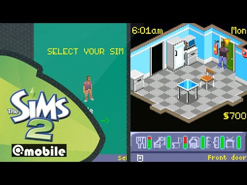 The Sims 2 Mobile (2005, Java) | Gameplay, No Commentary