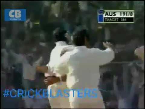 India Vs Australia 2001 Kolkata Test Winning Moment