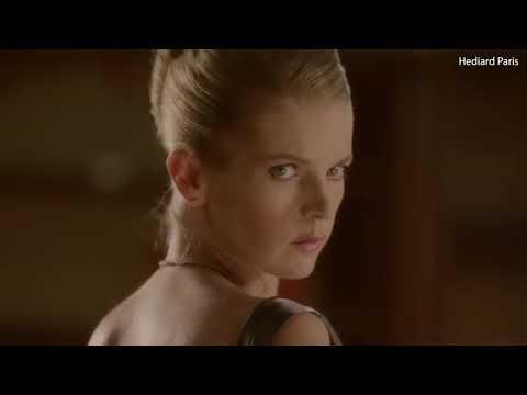 Alexandra Tolstoy in 2011 advert for luxury food brand Hediard
