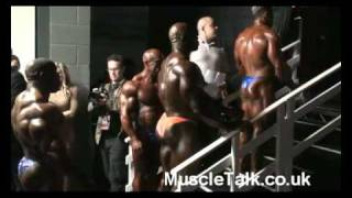 Backstage & Pumping Up at the British Grand Prix 2011