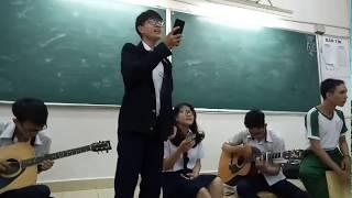 cover đừng như thói quen bởi cậu học sinh có giọng hát khủng
