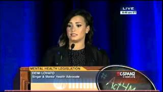 Demi Lovato at National Alliance of Mental Health #Act4MentalHealth