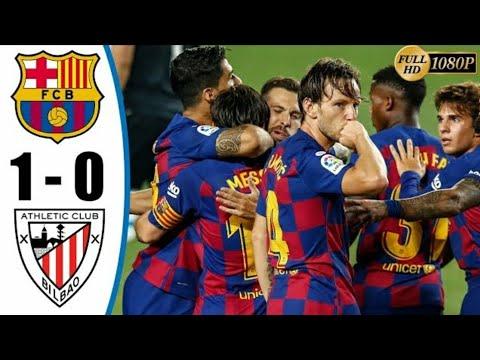 Barcelona vs Athletic Bilbao 1-0 - All Goals & Highlights ...