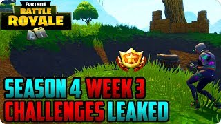 Fortnite Week 3 All Challenges Leaked! Follow The Treasure Map Found In Salty Springs